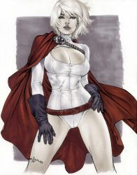 Copic Powergirl by me eBas by ebas