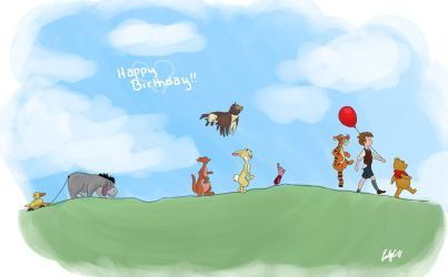 Where Christopher Robin Plays by Sketchderps