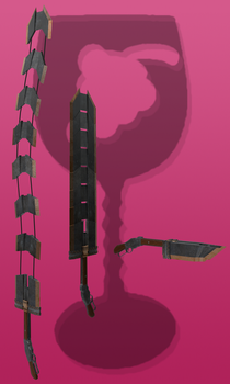 Thyrsus (RWBY OC weapon) by JackBryanReynard