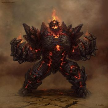 golem - 'Destroyer' by Ketka