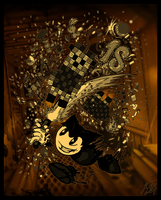 Bendy and the 18th Birthday by SavannaEGoth