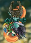 Twilight Princess color by CROMOU
