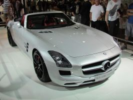 AIMS2012 - Mercedes Benz SLS AMG Roadster by TricoloreOne77
