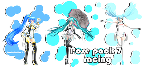 Pose pack 7 - Racing by ShootingStarBlue