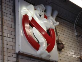 Ghostbusters II sign by Superandroid23