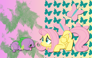 Flutter Spike WP by AliceHumanSacrifice0
