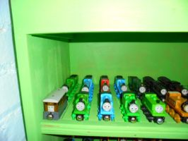My Train Shelves Picture 3 by Eli-J-Brony