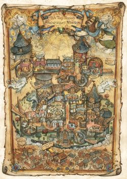 Tick Tary Tanner's Magnificent Mansion Map by FrancescaBaerald