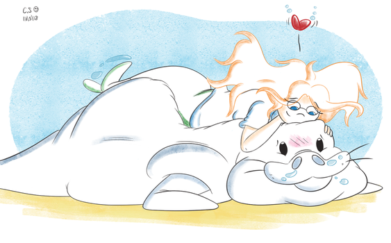 Manatee Bed by QwertyChris