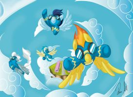The Wonderbolts! by allocen