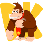 Fighter #02: Donkey Kong by TrueVisionary01
