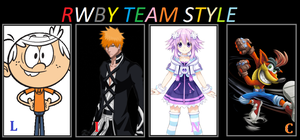 rwby team style LINC by funnytime77