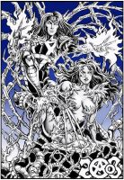 Witchblade fan-art by Candra