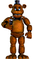 Freddy Fazbear full body by JoltGametravel