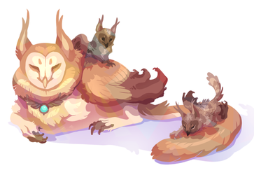 a mother loaf with her loaflings by peregyr