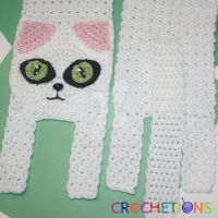 Kitty Cat Scarf - Crochet Pattern