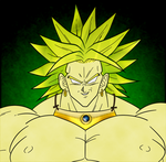 Broly The Legendary Super Saiyan by Cosmicmoonshine