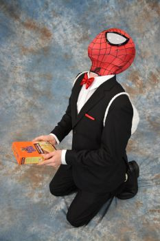 Wedding Crasher Spidey - Cosplay #5 by HulktySSJ2