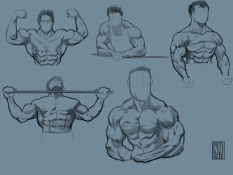 Muscle bound 2 by NeerajMenon