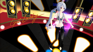 MMD Get Lucky (Bella Haku) camera download by dreamydark