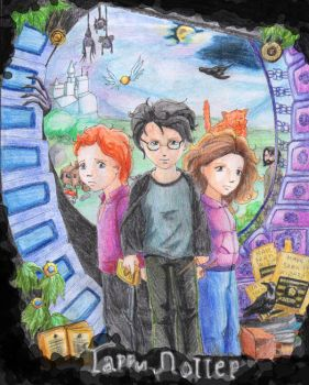 HarryPotter by Silwin