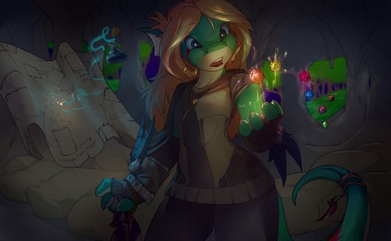 The Magic of Dice by Noben