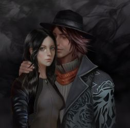 Ardyn and Reina by BellaBergolts