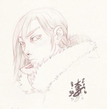 Character Design Head Sketch by arcais