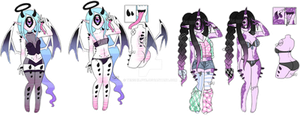 ObsceneTenshi Xynthii Collab || CLOSED by Tenshilove