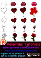 Valentine Tutorials by KioryAlion