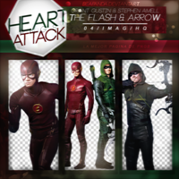 Pack Png 148 // The Flash and Arrow by BEAPANDA