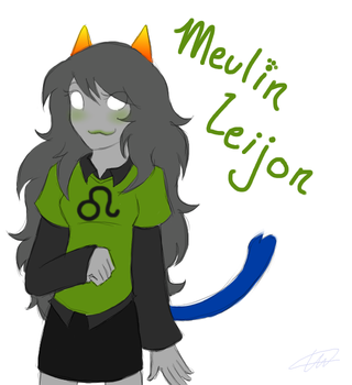 Homestuck- Meulin Leijon by starwish-chan