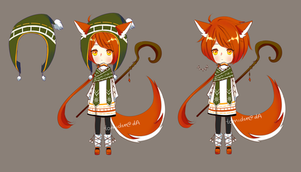 [ADOPT 114][CHANGED TO SET PRICE][OPEN] MAGE BBY~ by tomiden