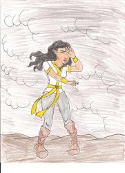 Isil in the storm by Bella-Who-1