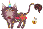 [CLOSED] UniCat with Autumn Theme by mouldyCat