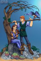 Quest for CamelotCOLORINGpage4 by lilbustedsoccerchick