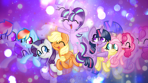 MLP-Friends will always there for you(Chibi) by SnowflakeWonder