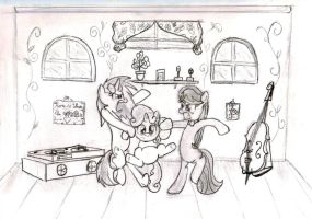 Music Lessons/Creative Differences by lefthoovesdash
