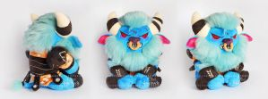 Spirit Breaker Plush I Dota2 by O-l-i-v-i