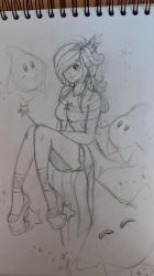 Rosalina - Sketch by Piiunivers