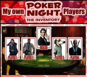 StarLord256's Poker Night at the Inventory by StarLord256