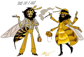wasp concept by Spoonfayse