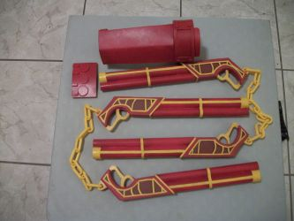 Sun Wukong Gunchucks and Gauntlet Complete by Gamoden