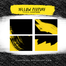 Yellow Texture Pack by CandyBiebs