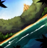ancient lake by LazyTurtle