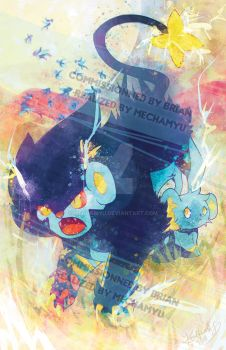 Defensive Luxray by Mechamyu