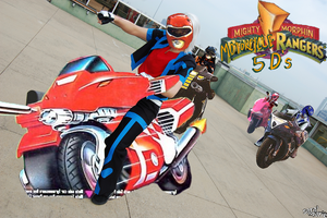 MIGHTYMORPHINMOTORCYCLERANGERS by Dragonblade-Dreams