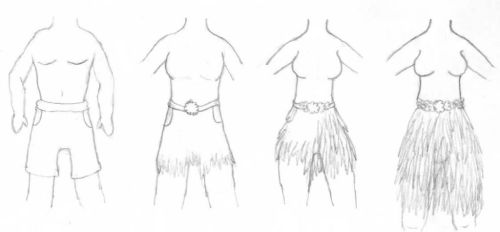 Grass Skirt TG by KSchnee