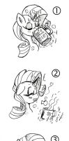 Would you ever kiss a mare with a moustache? by byLisboa