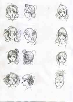 Hairstyles by Light-Lein